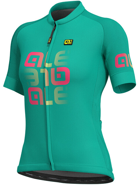Alé Cycling Solid Mirror SS Jersey Women green